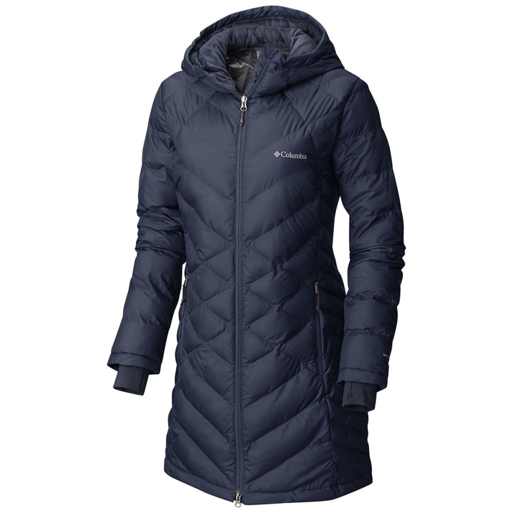 COLUMBIA Women's Heavenly Long Hooded Jacket - 591-NOCTURNAL