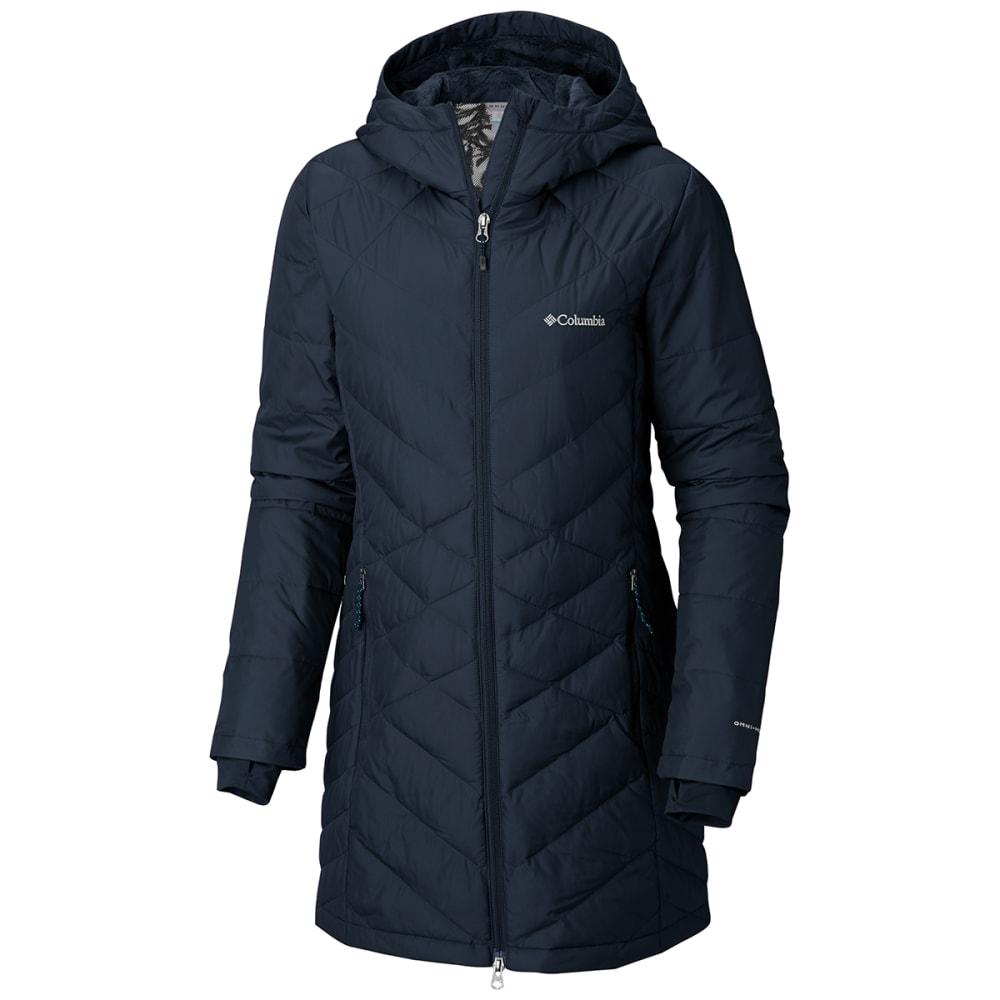 COLUMBIA Women's Heavenly Long Hooded Jacket - 472 DARK NOCTURNAL
