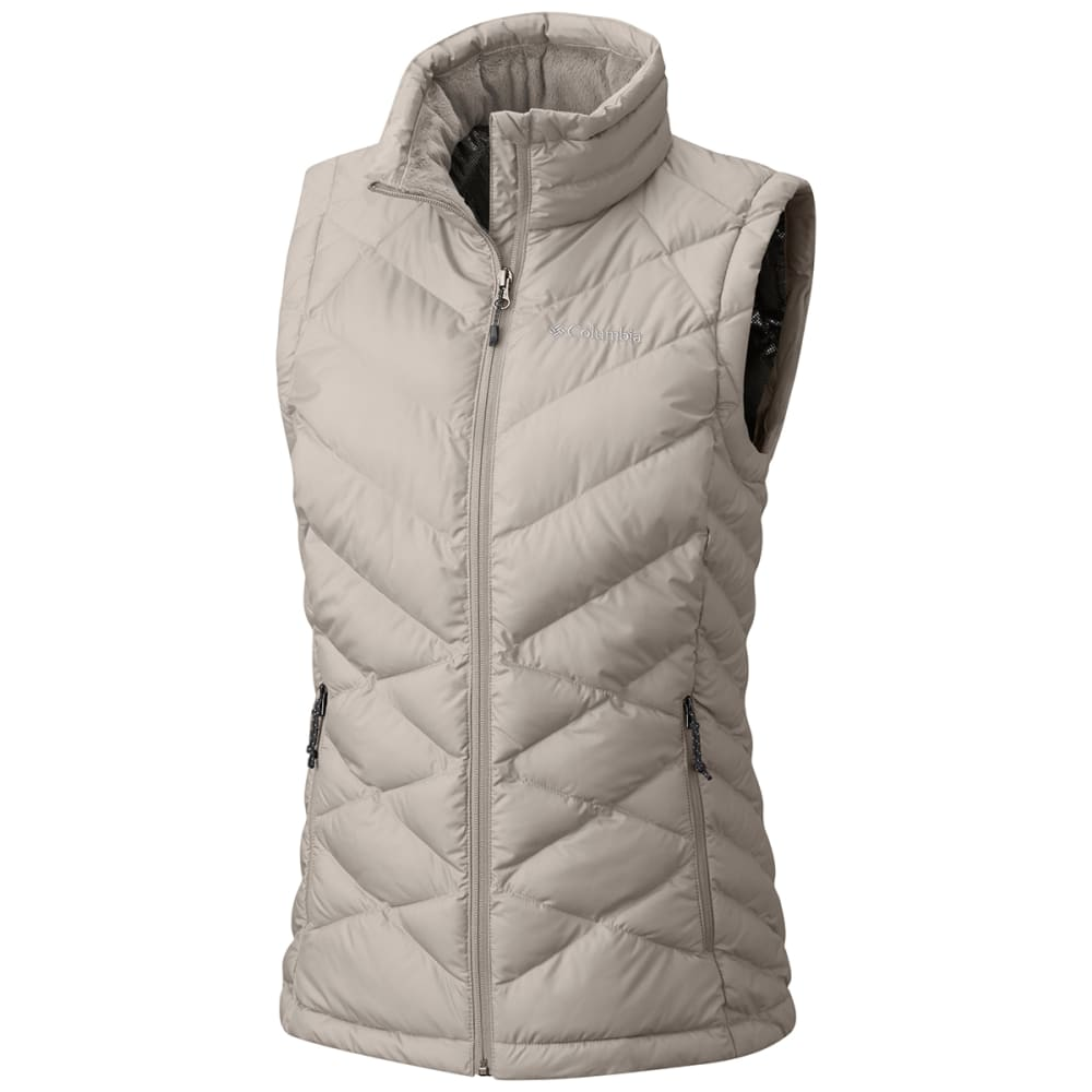COLUMBIA Women's Heavenly Vest - 106 - LT BISQUE