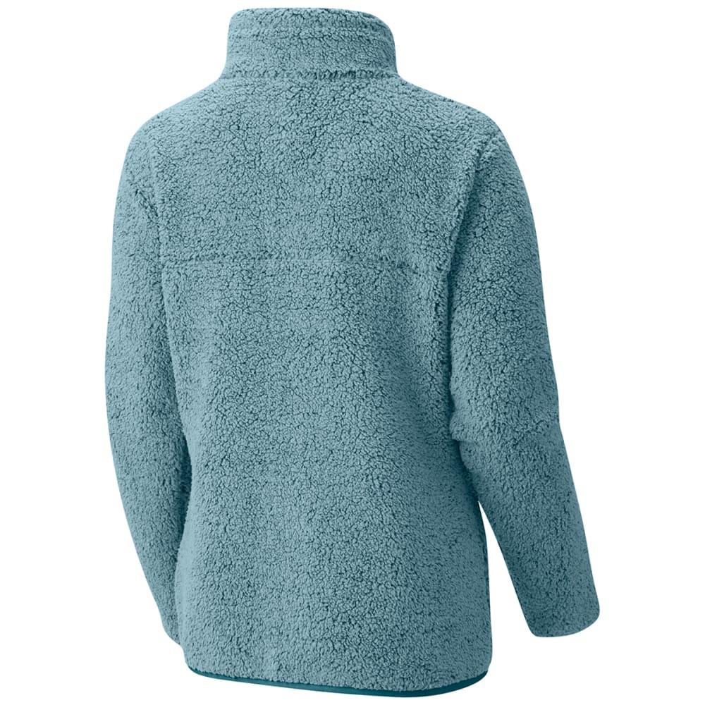 COLUMBIA Women's Mountain Side Heavyweight Fleece Full Zip Jacket - 938-STONE BLUE/CLOUD