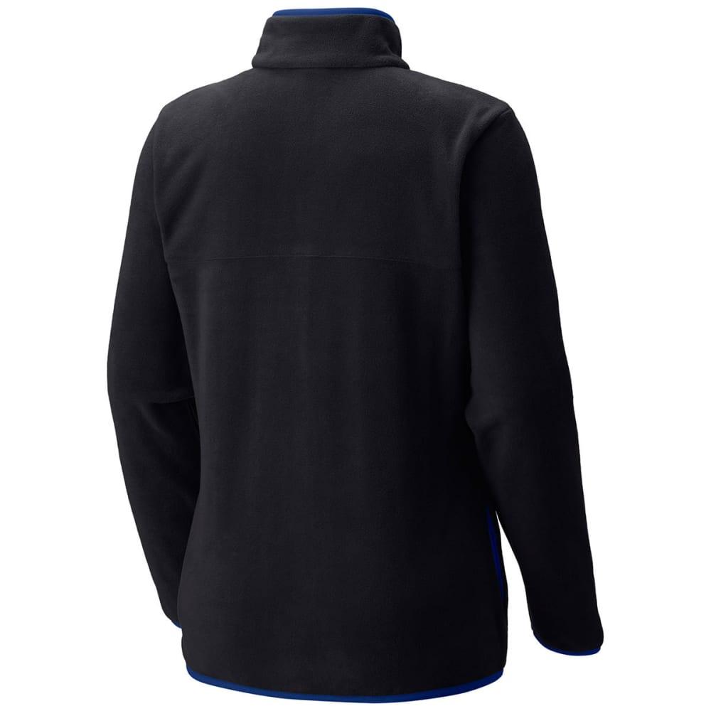 COLUMBIA Women's Mountain Crest Full-Zip Fleece Jacket - 010-BLACK/DYNASTY