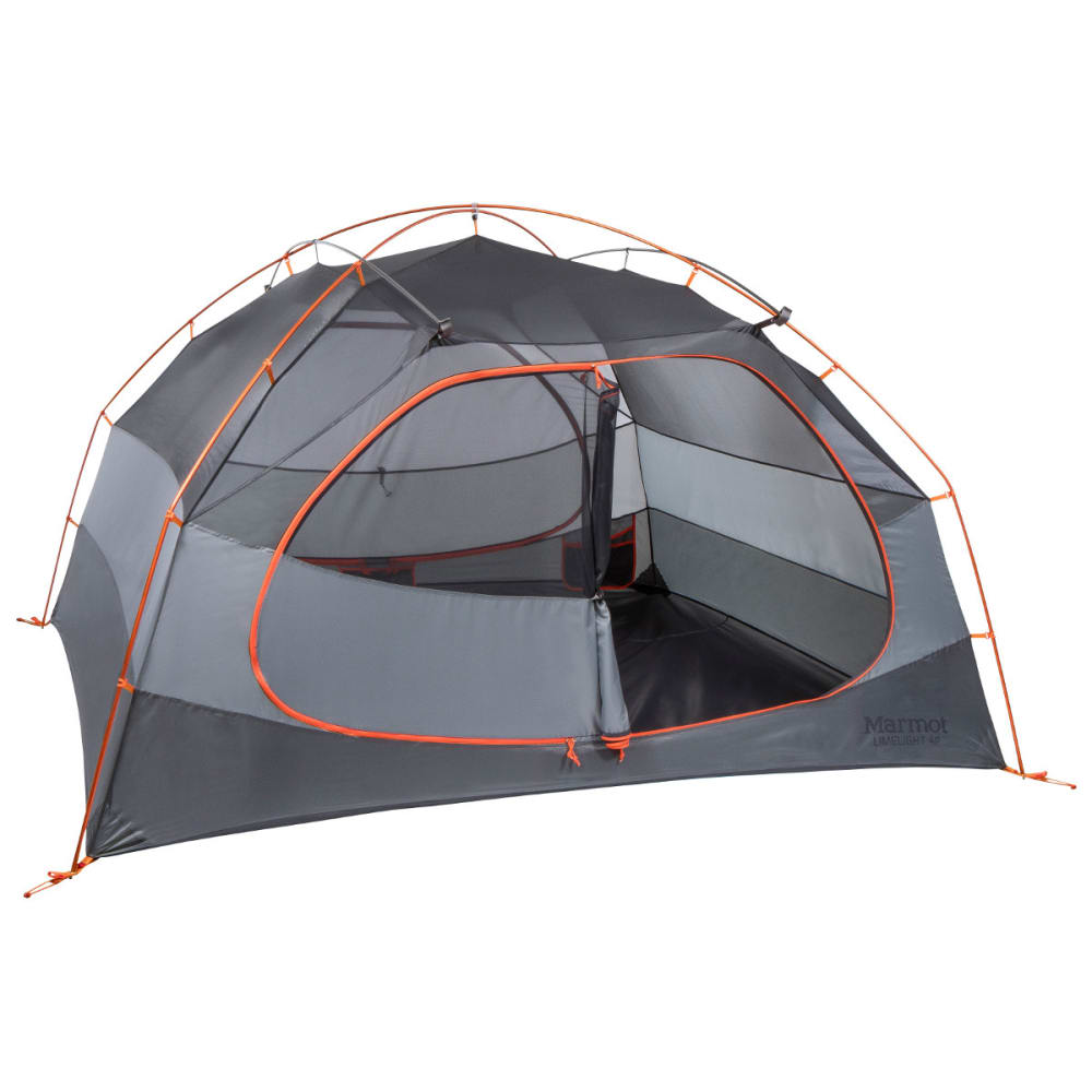 MARMOT Limelight 4P Tent - CINDER/RUSTED ORANGE