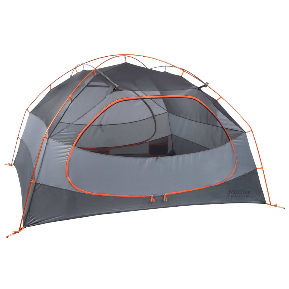 MARMOT Limelight 4P Tent - CINDER/RUSTED ORANGE