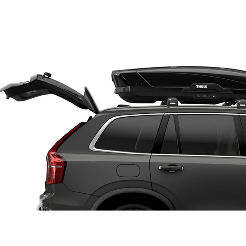 thule motion xt xl cargo box black eastern mountain sports. Black Bedroom Furniture Sets. Home Design Ideas
