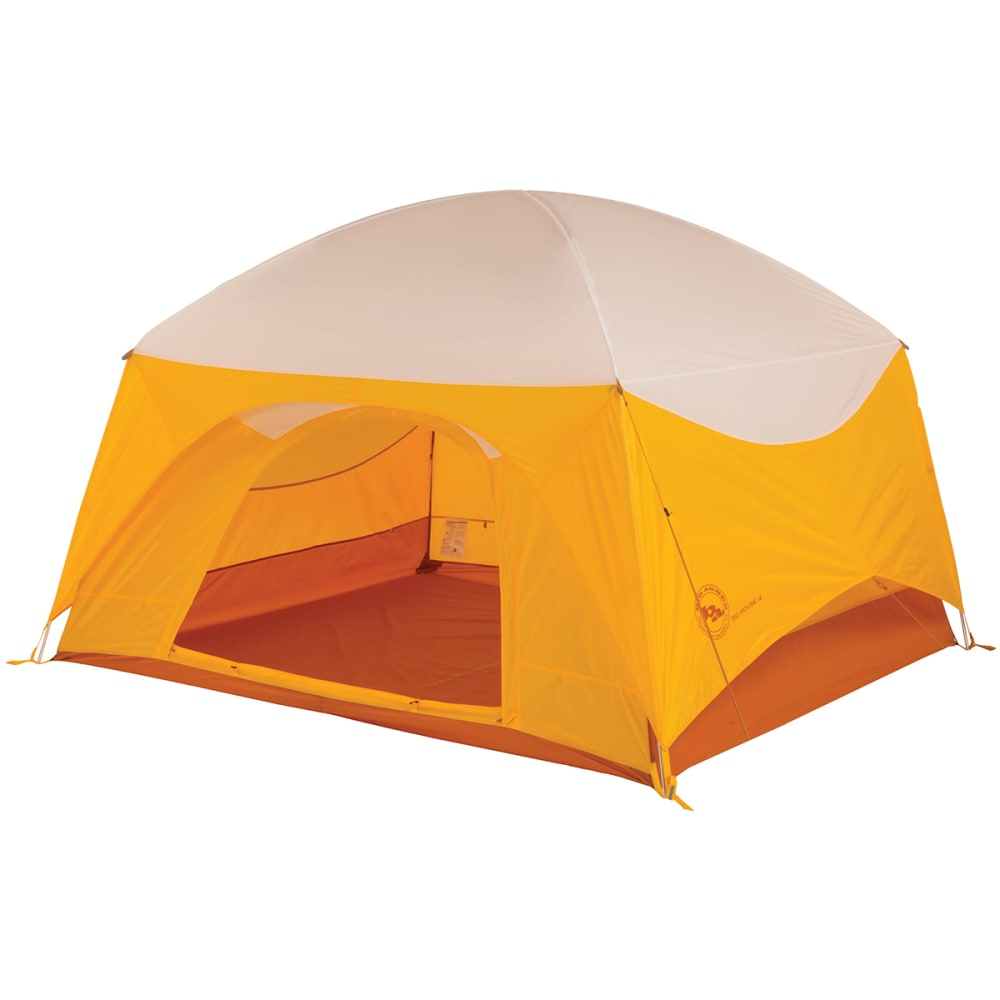 BIG AGNES Big House 4 Tent - GOLD/WHITE