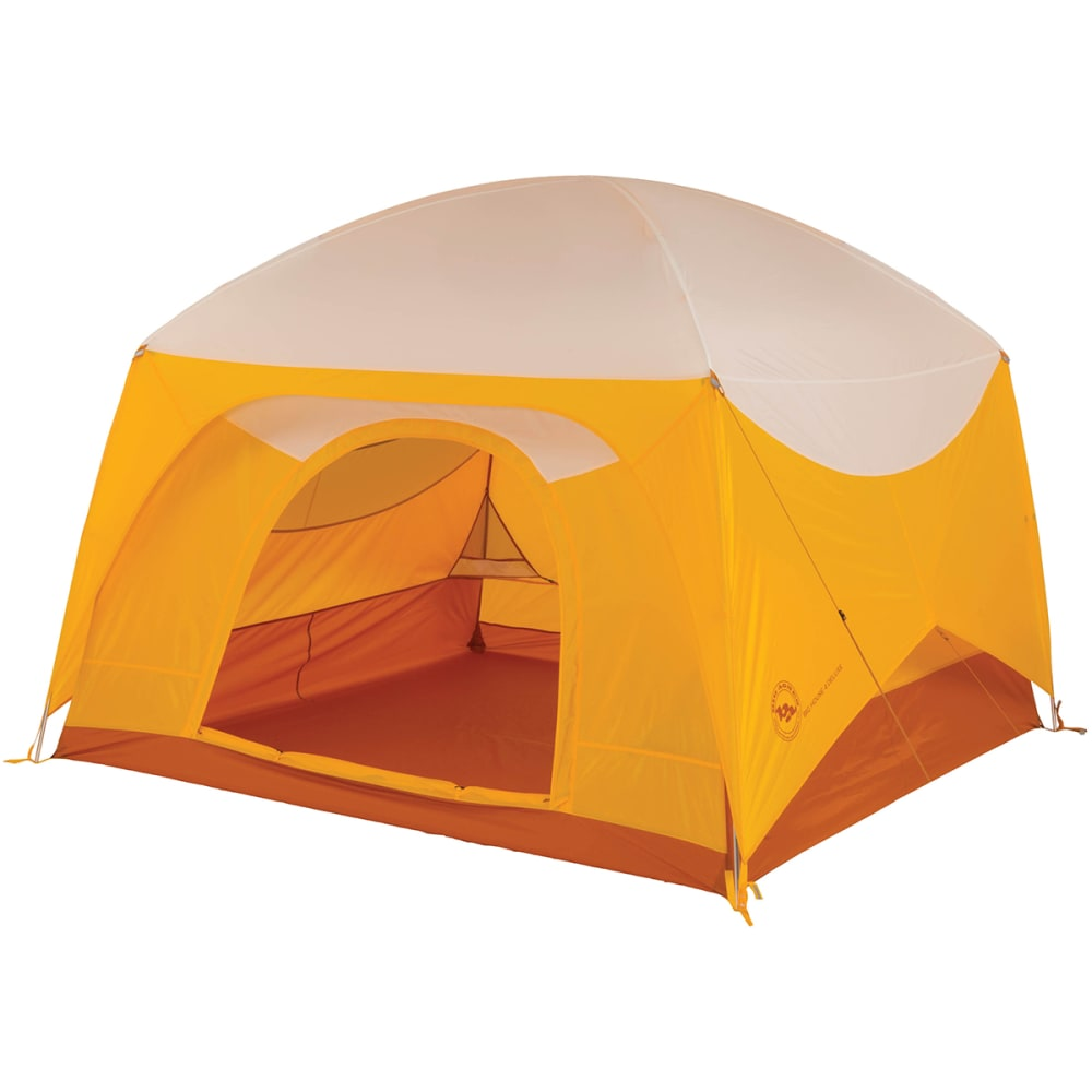 BIG AGNES Big House 4 Deluxe Tent - GOLD/WHITE