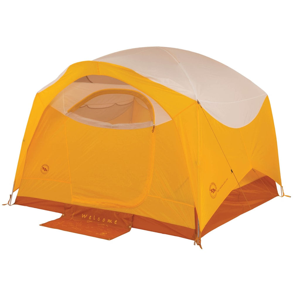 BIG AGNES Big House 6 Deluxe Tent - GOLD/WHITE