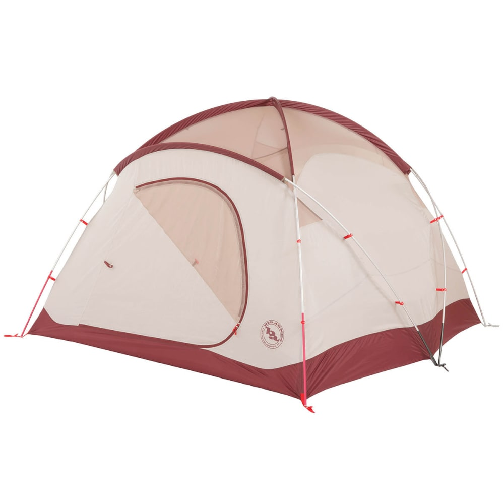 BIG AGNES Flying Diamond 4 Tent - WINE/TAN