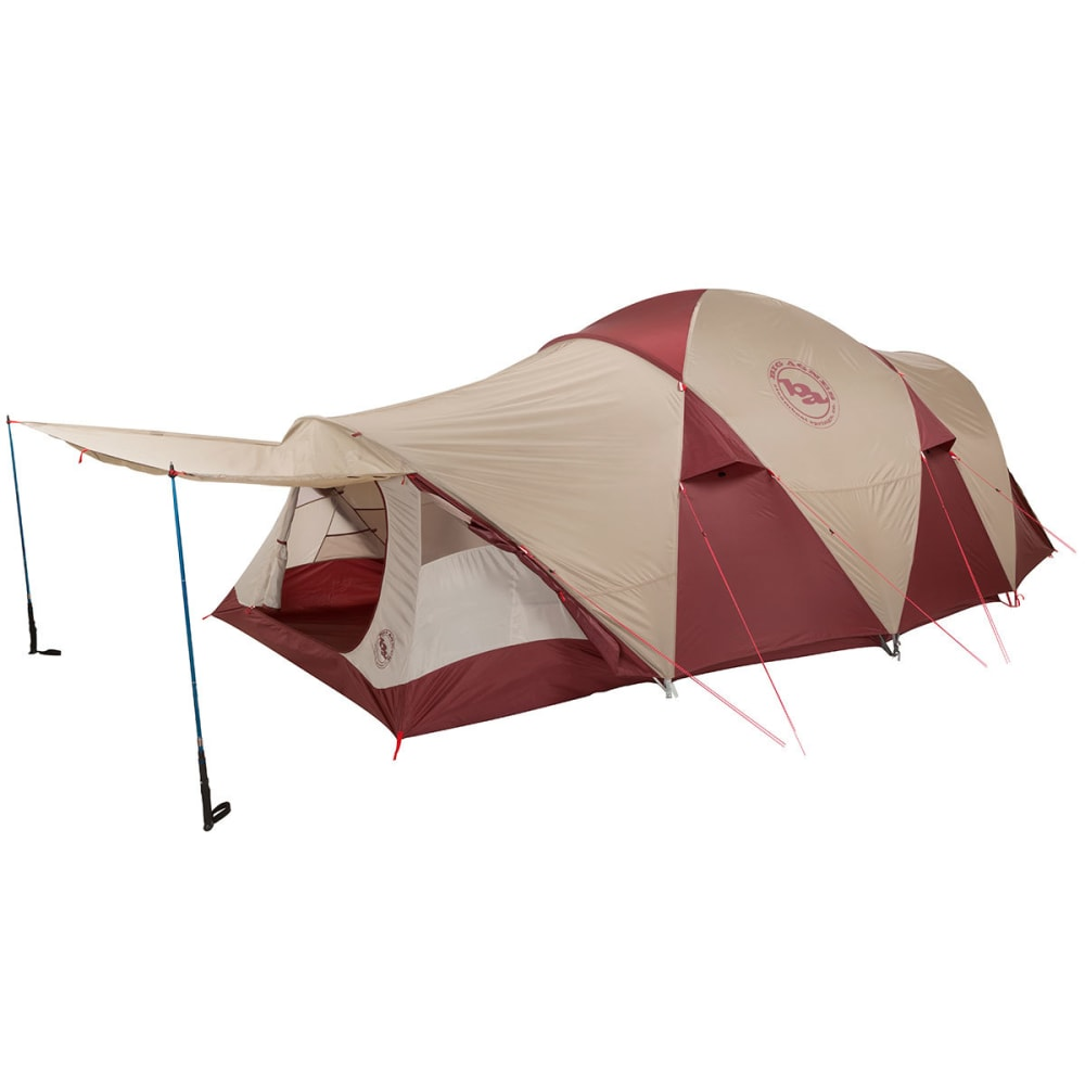 BIG AGNES Flying Diamond 6 Tent - WINE/TAN