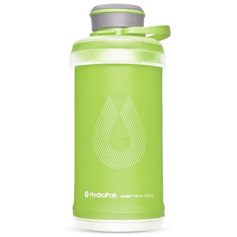HYDRAPAK 0.75L Stash Water Bottle - SEQUOIA GREEN/G102Q