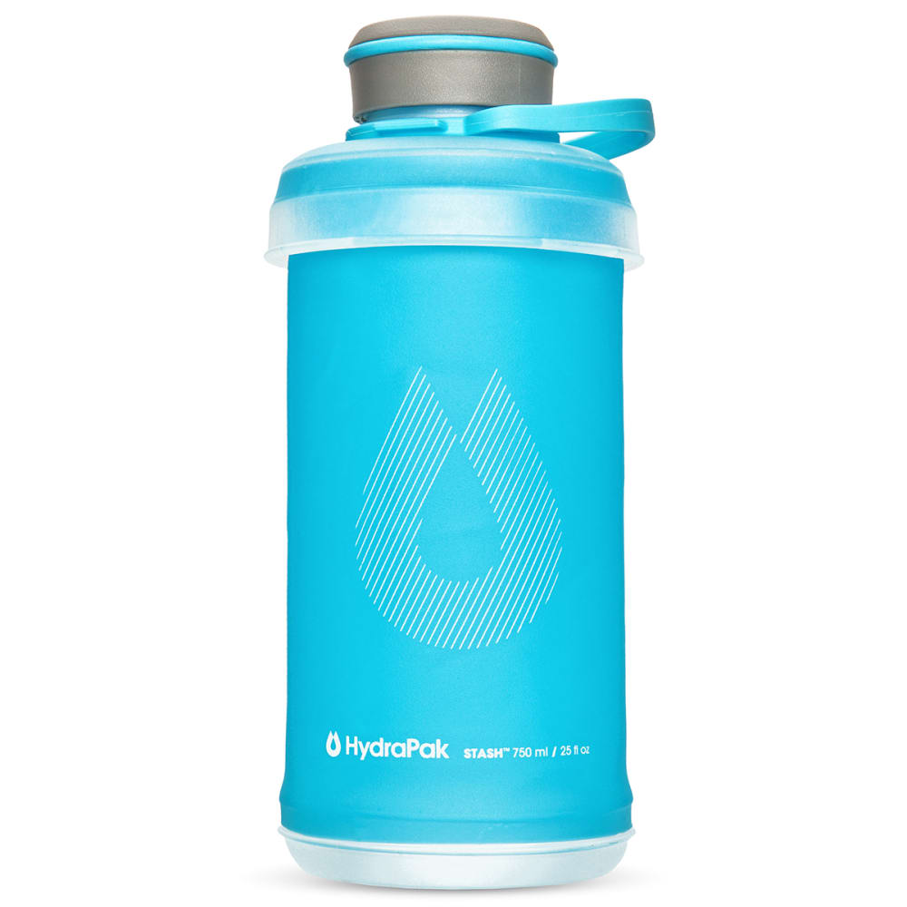 HYDRAPAK 0.75L Stash Water Bottle - MALIBU BLUE/G102HP