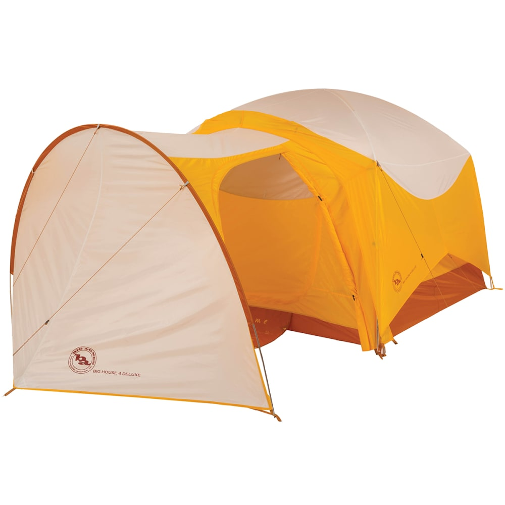 BIG AGNES Big House Deluxe 4 Vestibule - GOLD/WHITE