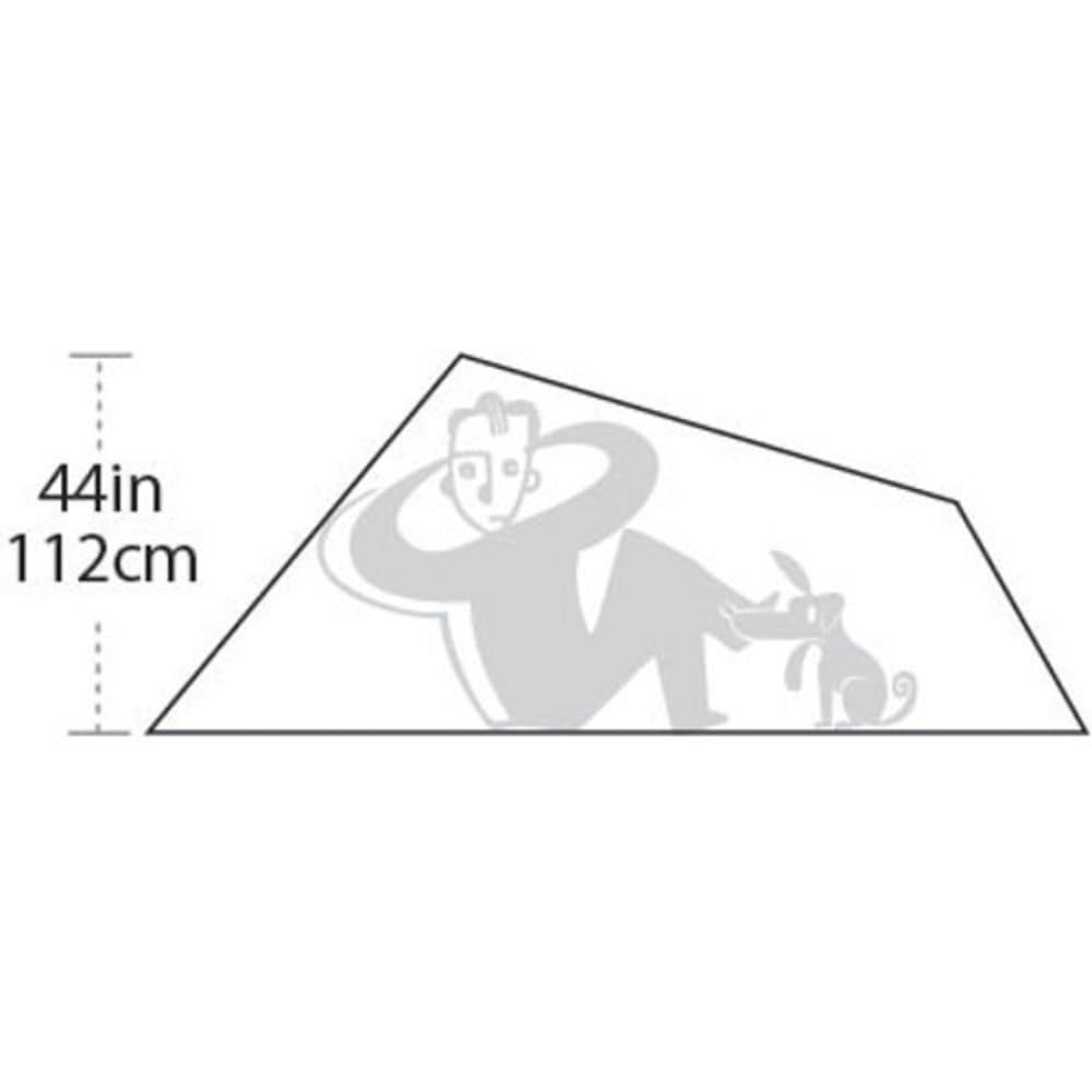 BIG AGNES Seedhouse SL 3 Tent - ASH/GREEN