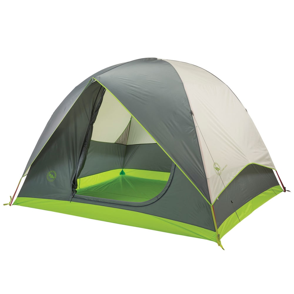 BIG AGNES Rabbit Ears 6 Tent - GREY/GREEN