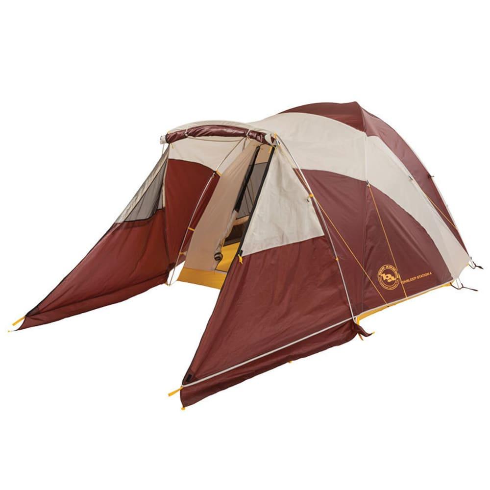 BIG AGNES Tensleep Station 6 Tent - RAISIN/MOON