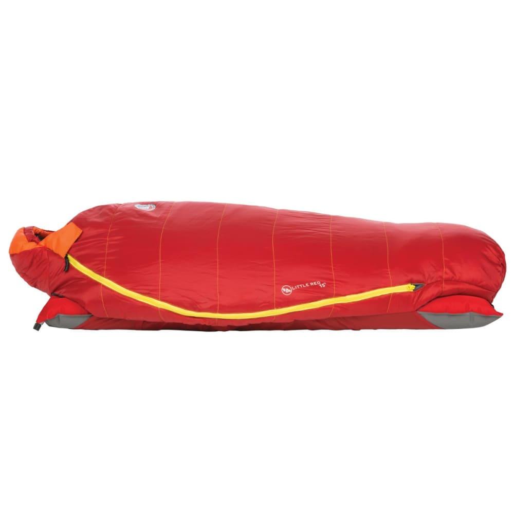 BIG AGNES Kids' Little Red 15 Sleeping Bag - SALSA