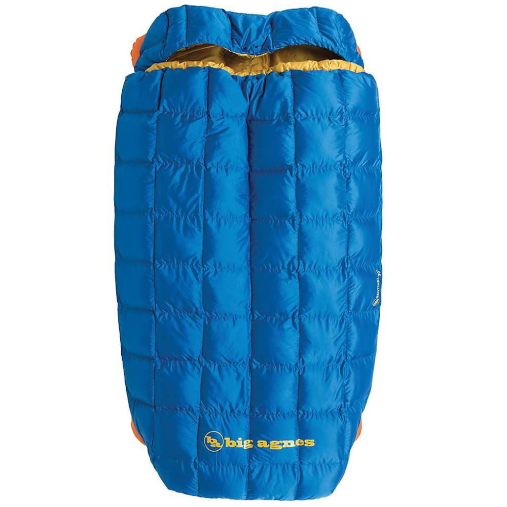 BIG AGNES Sentinel Double Wide 30 Sleeping Bag - BLUE