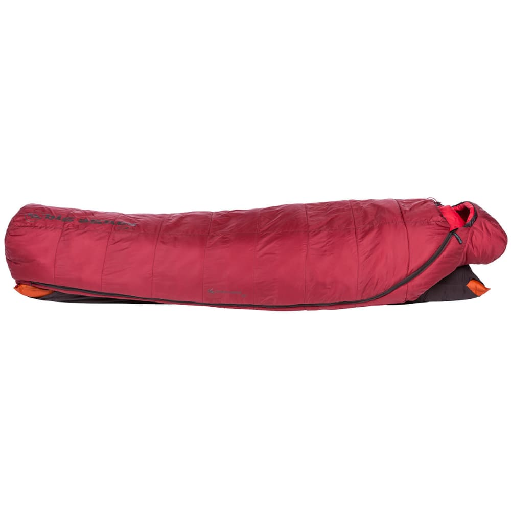 BIG AGNES Gunn Creek 30 Sleeping Bag, Long - RED