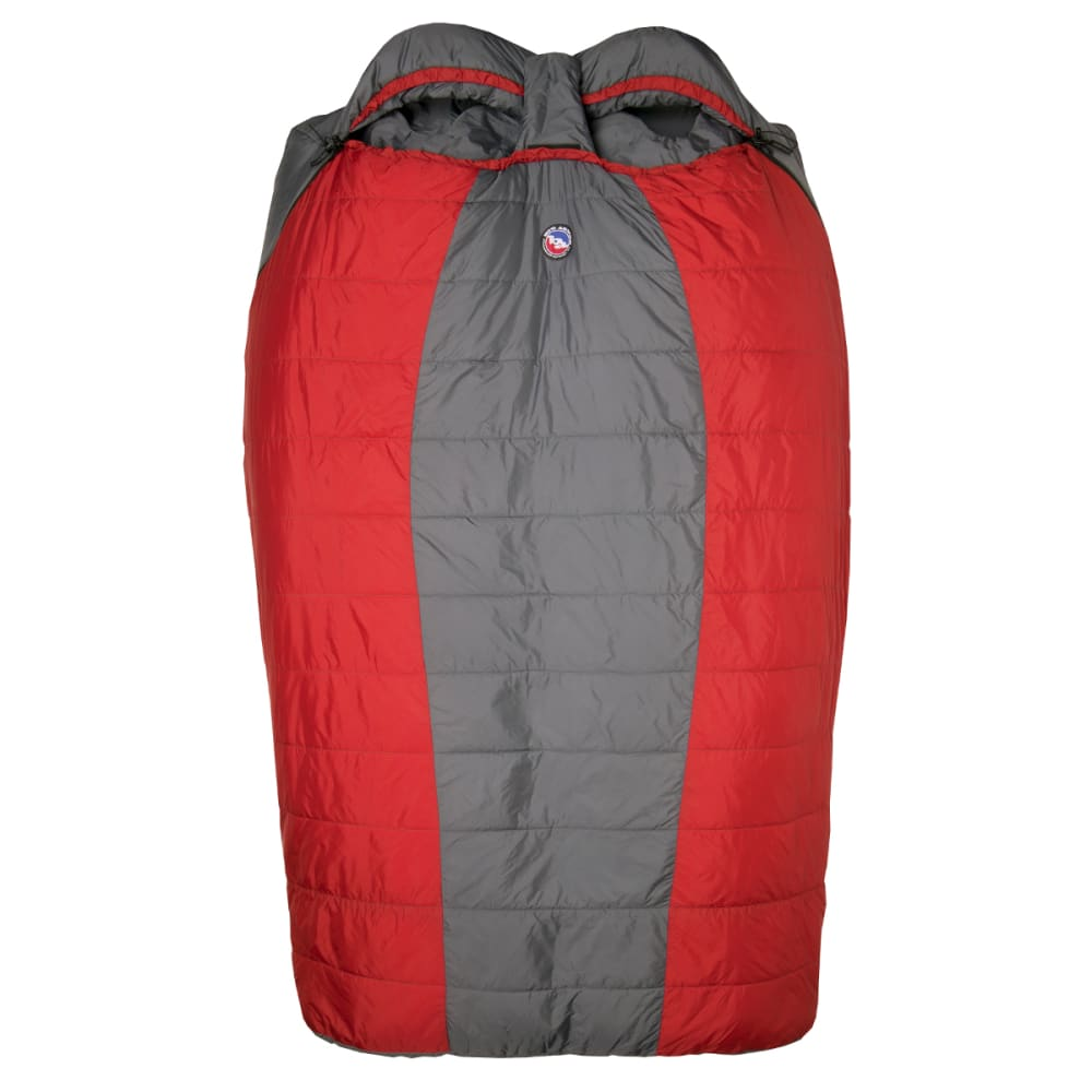 BIG AGNES Big Creek 30 Double Wide Sleeping Bag - RED