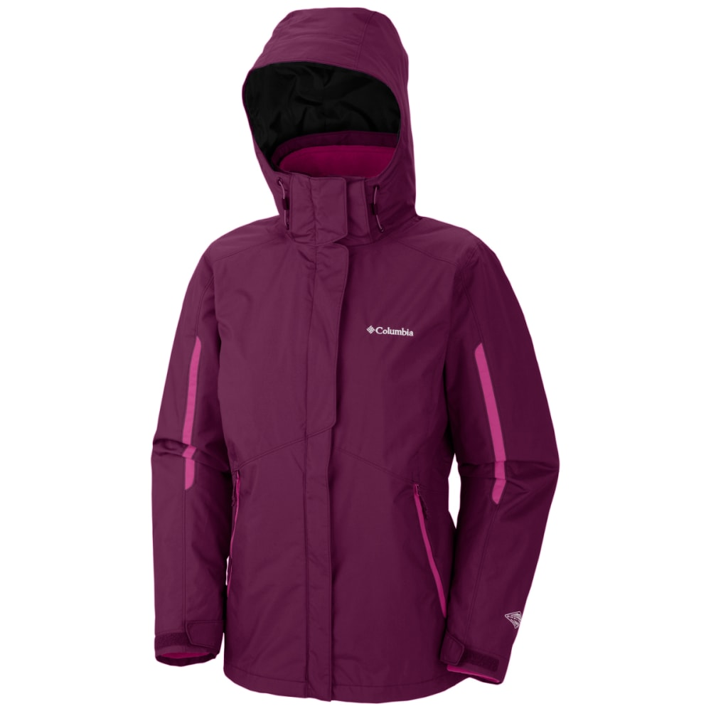 COLUMBIA Women's Bugaboo Interchange Jacket - 520-DARK RASP BLUSH