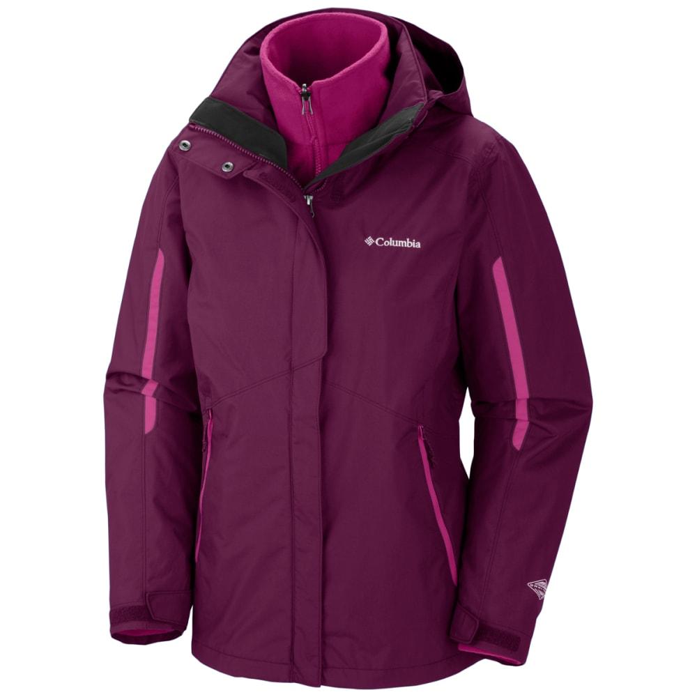 COLUMBIA Women's Bugaboo Interchange Jacket - 520-DARK RASP BLUSH