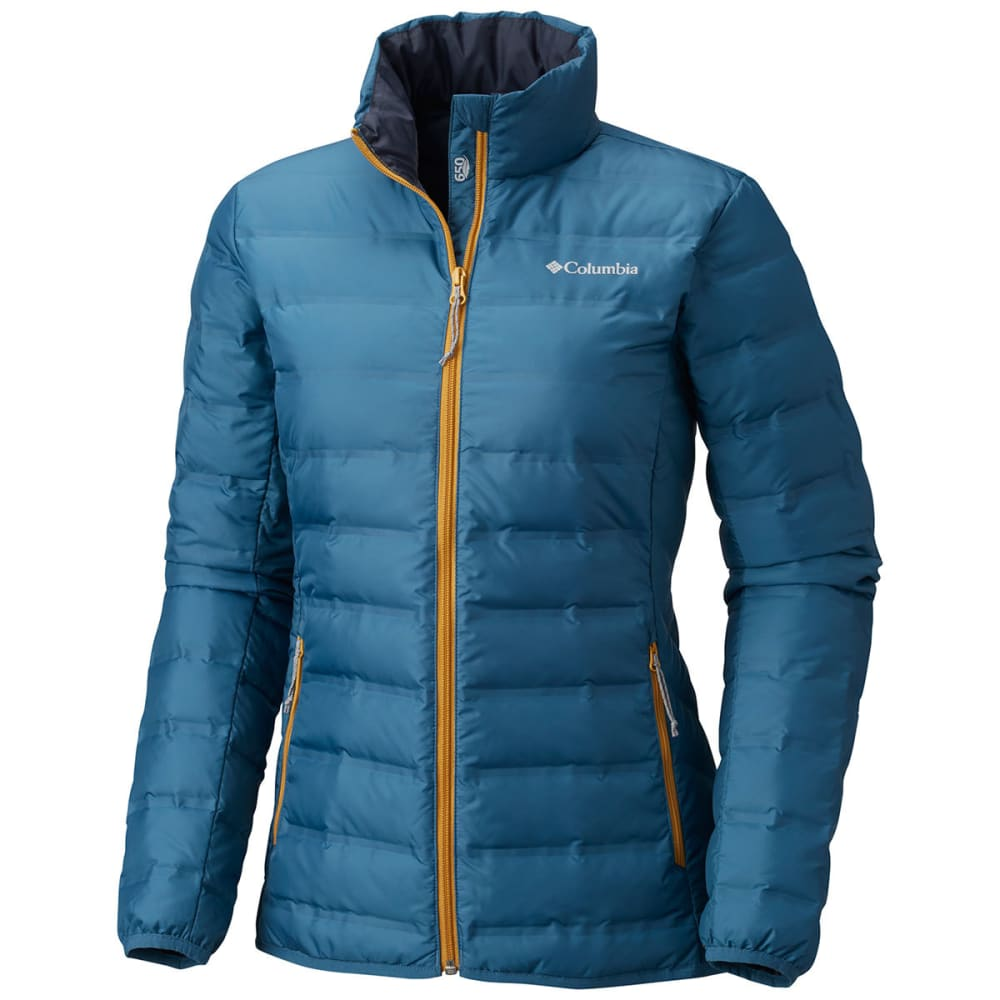 COLUMBIA Women's Lake 22 Jacket - 407-BLUE HERON