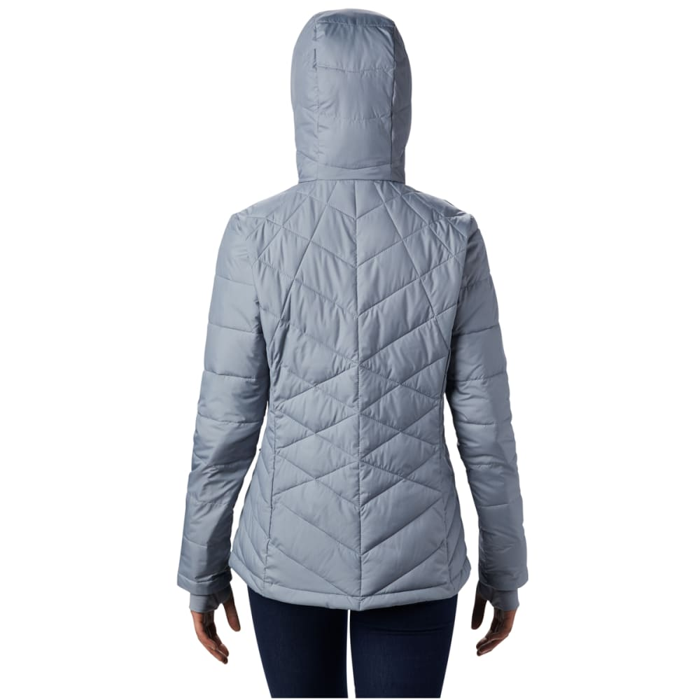 COLUMBIA Women's Heavenly Hooded Jacket - 032 TRADEWINDS GREY