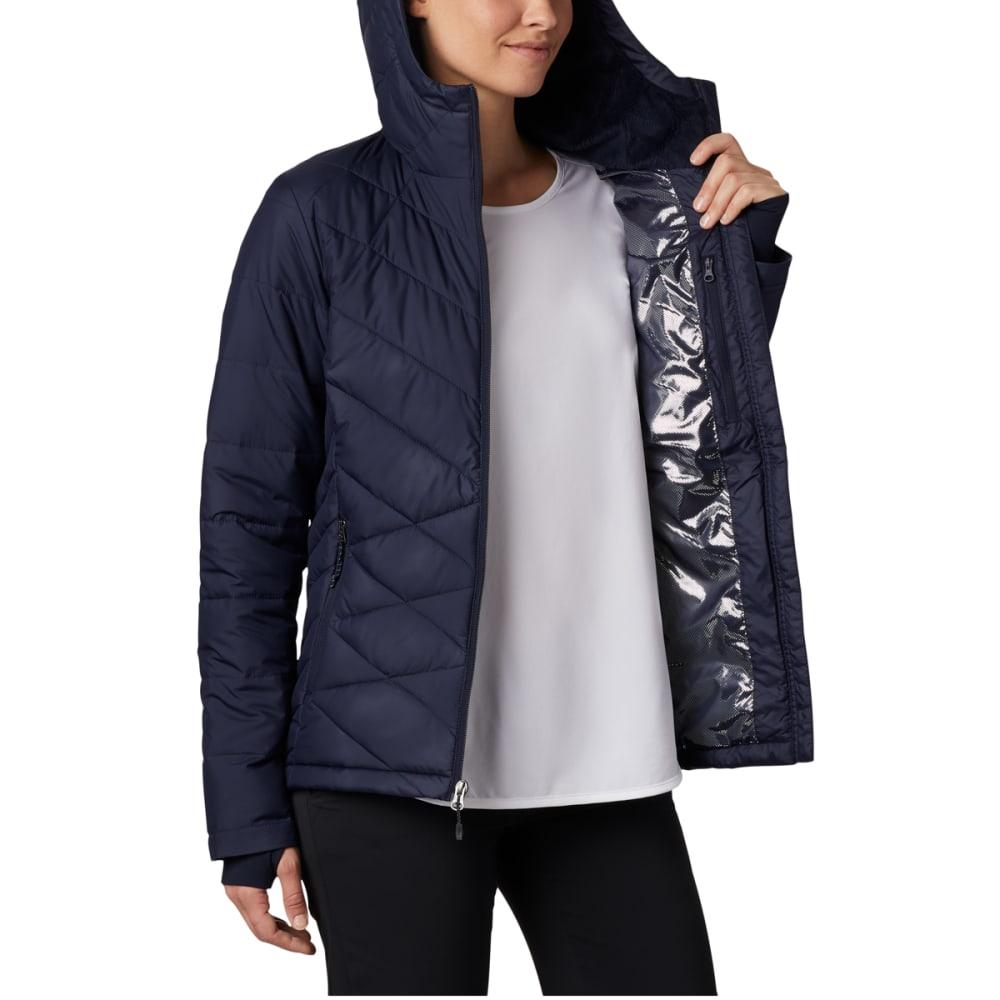 COLUMBIA Women's Heavenly Hooded Jacket - 472 DARK NOCTURNAL