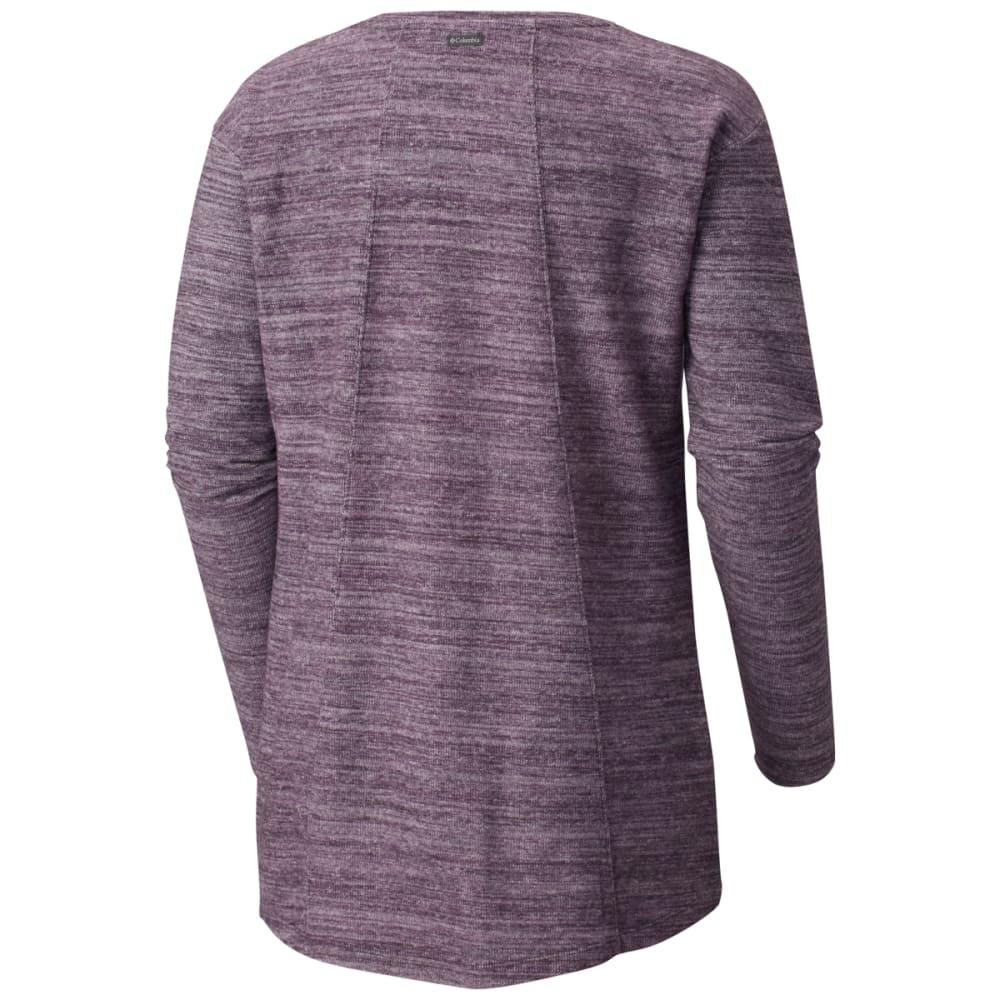 COLUMBIA Women's By the Hearth Sweater - DARK PLUM - 506