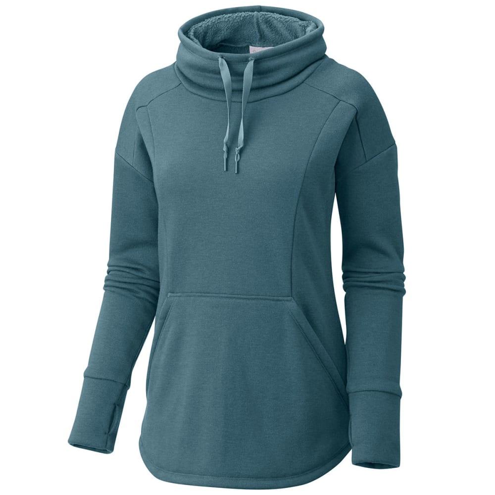 COLUMBIA Women's Week to Weekend Long-Sleeve Pullover - 336-CLOUDBURST