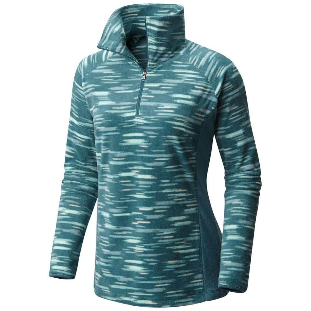 COLUMBIA Women's Glacial Fleece III Print Half Zip Pullover S