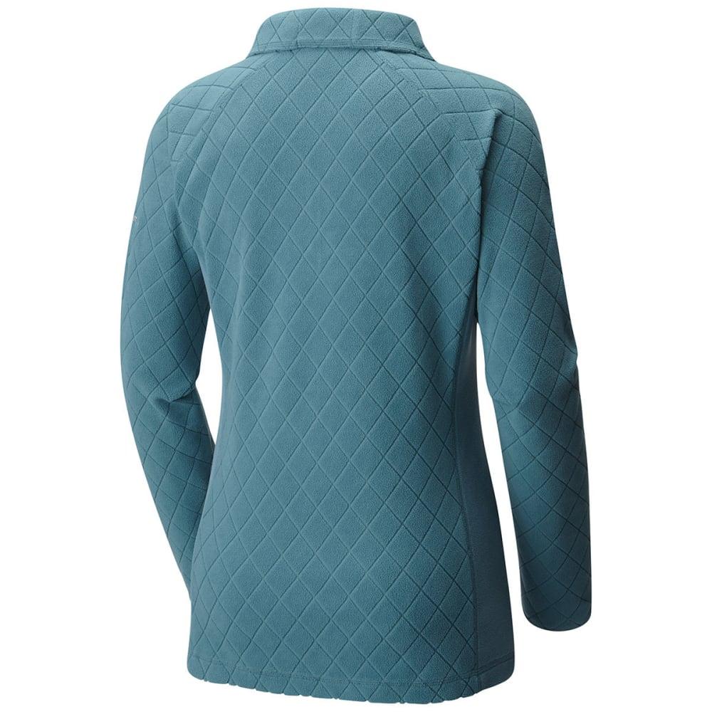 COLUMBIA Women's Glacial Fleece III Print Half Zip Pullover - 337-CLOUDBURST DIAMO