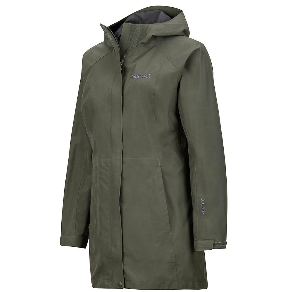 MARMOT Women's Essential Jacket - 4022-BEETLE GREEN