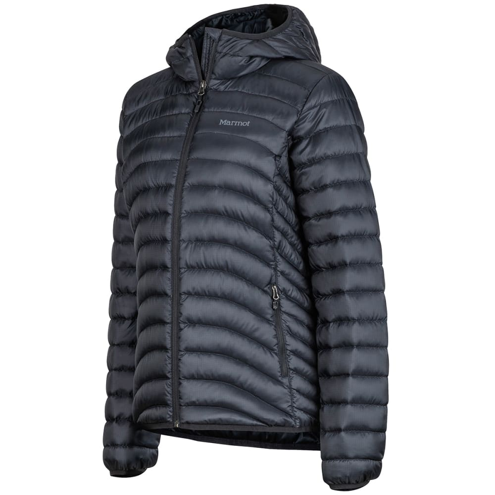 MARMOT Women's Aruna Hoody Down Jacket - 001-BLACK
