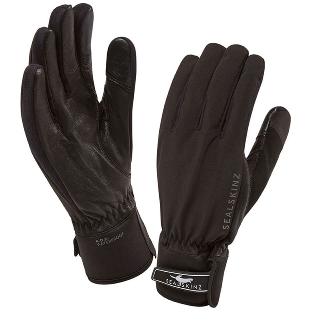 SEALSKINZ Women's All Season Glove - BLACK/CHARCOAL