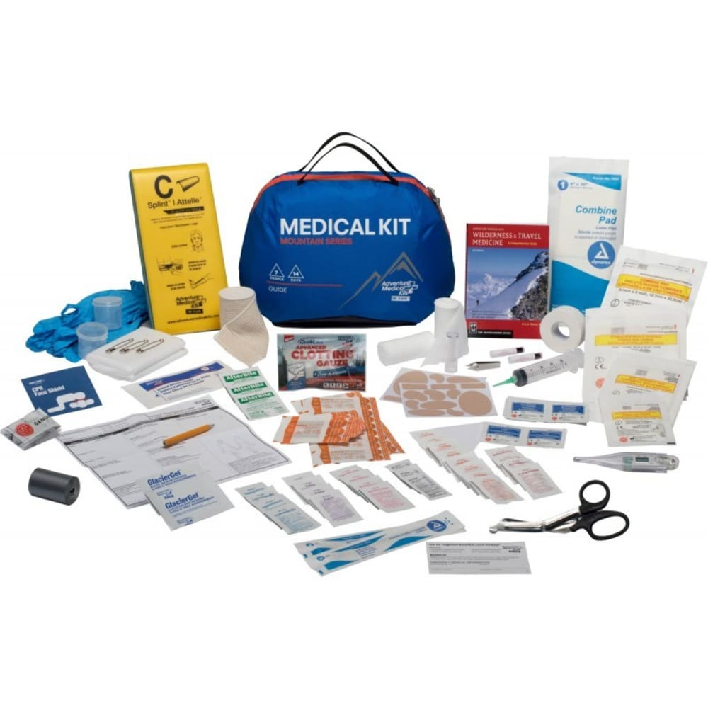 AMK Mountain Guide First Aid Kit - BLUE