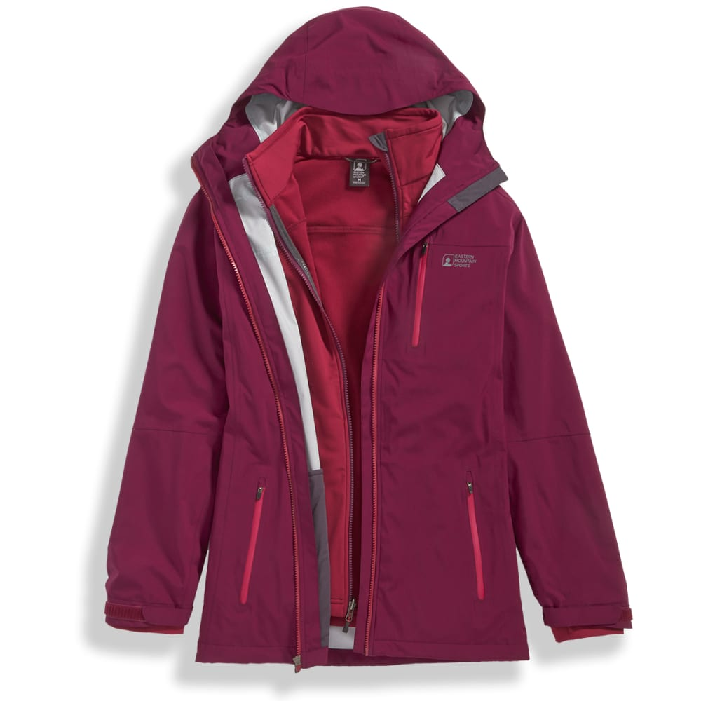 e4d9306ef EMS Women's Triton 3-in-1 Jacket - Eastern Mountain Sports