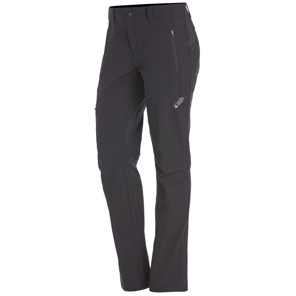 EMS Women's Pinnacle Soft Shell Pants - BLACK