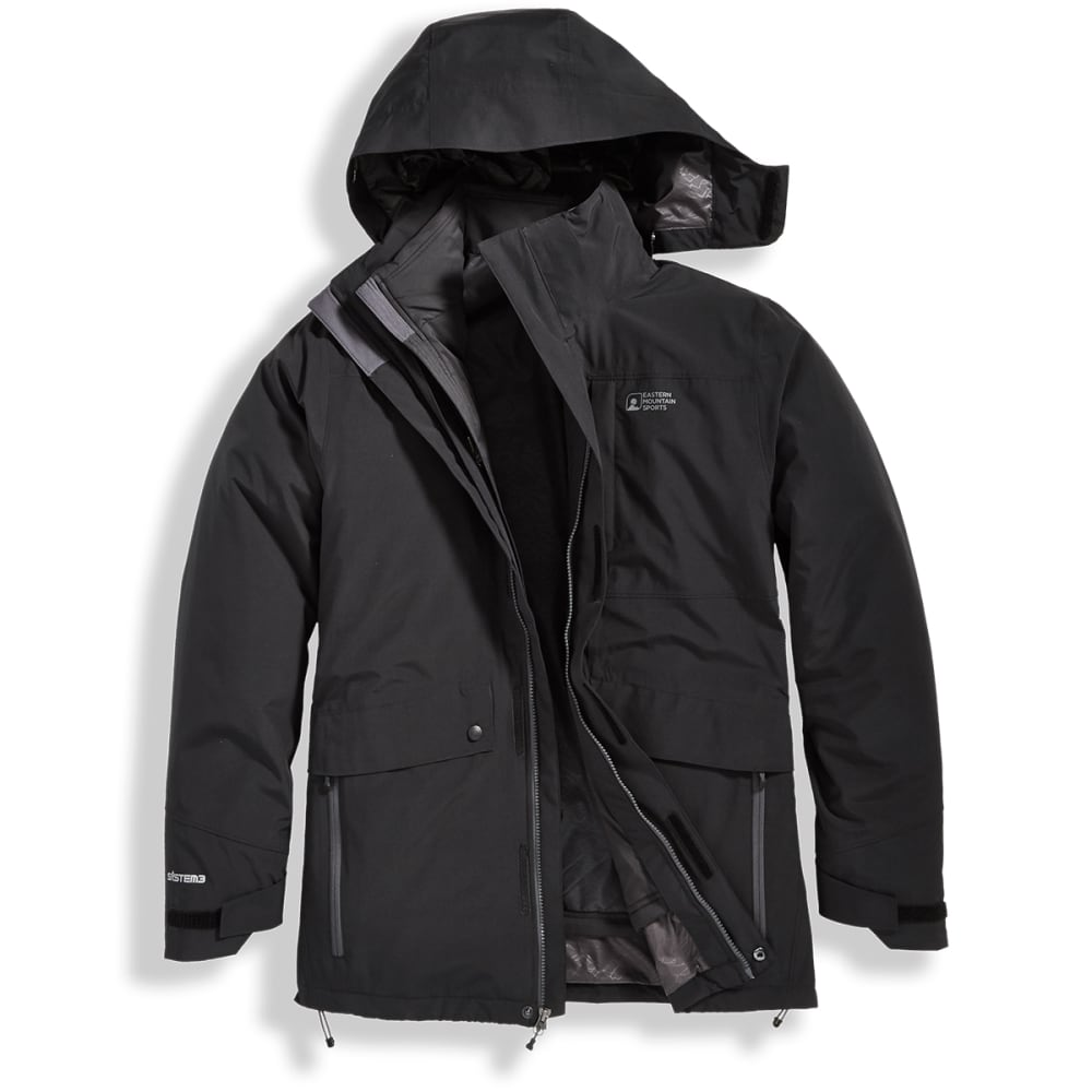 EMS Men's Catskill 3-in-1 Jacket - BLACK