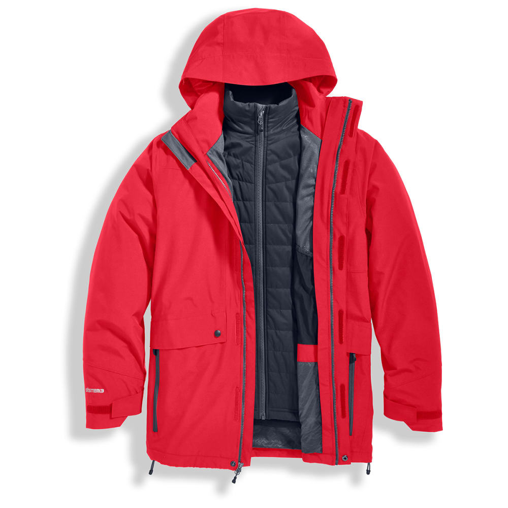 EMS Men's Catskill 3-in-1 Jacket - SALSA