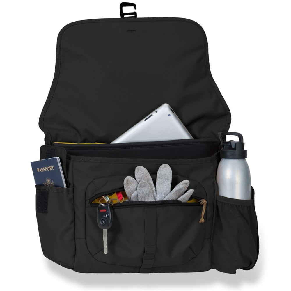 MOUNTAINSMITH Adventure Office Messenger Bag, Small - HERITAGE BLACK