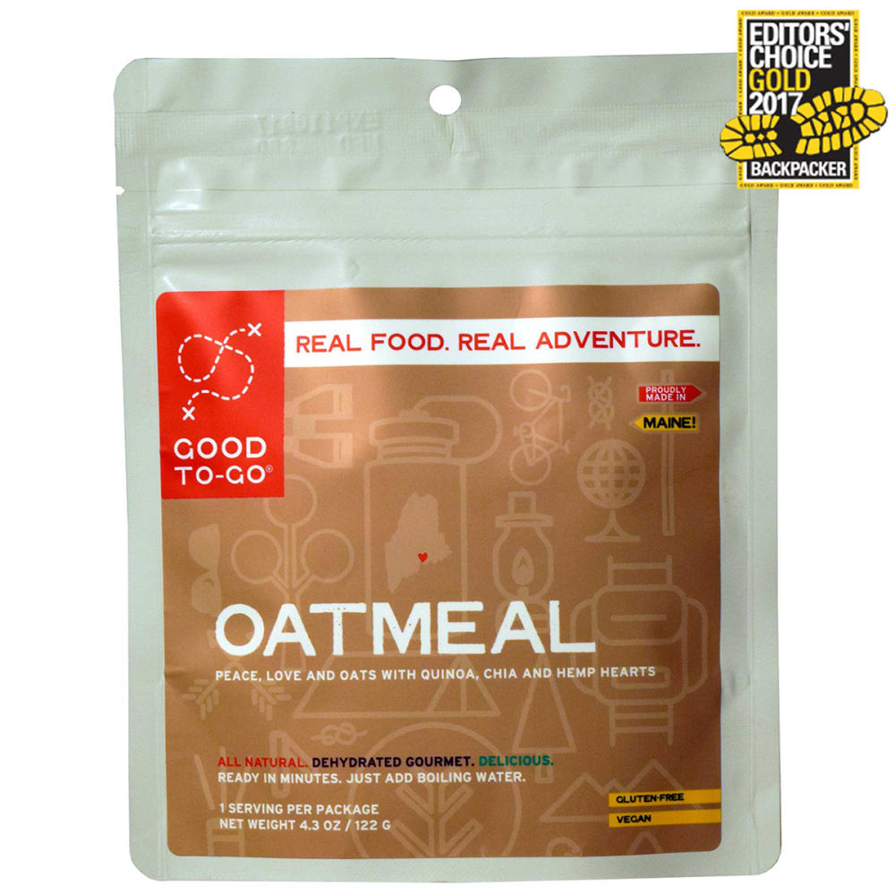 GOOD TO-GO Oatmeal - NO COLOR
