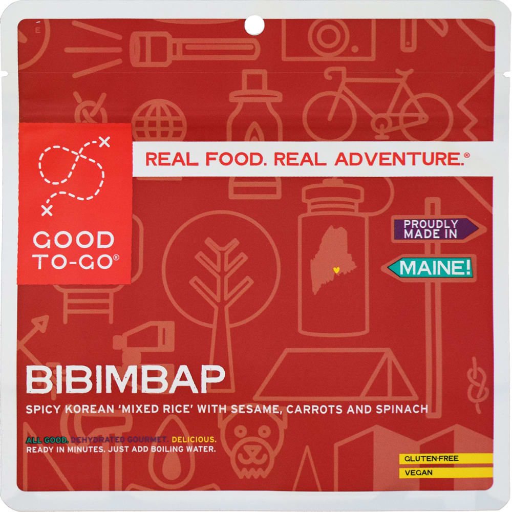 GOOD TO-GO Korean Bibimbap Single Packet - NO COLOR