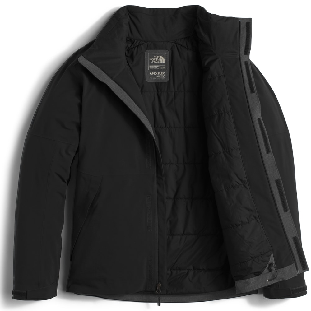 THE NORTH FACE Men's Apex Flex GTX® Insulated Jacket - JK3-TNF BLACK