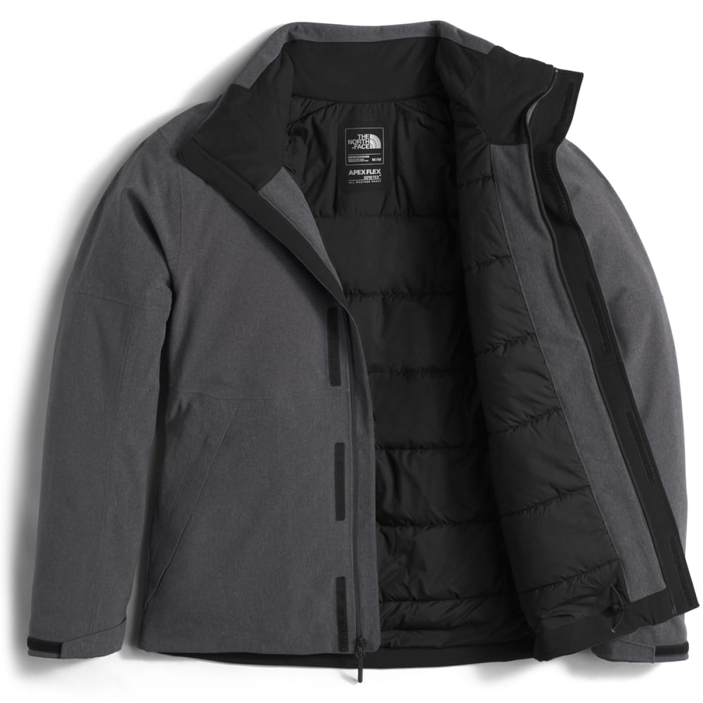 THE NORTH FACE Men's Apex Flex GTX® Insulated Jacket - DYZ-TNF DARK GRY HTR
