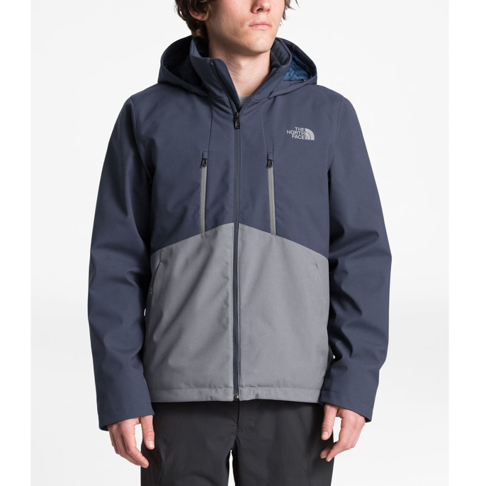 THE NORTH FACE Men's Apex Elevation Jacket - MYL MID GREY SH BLUE