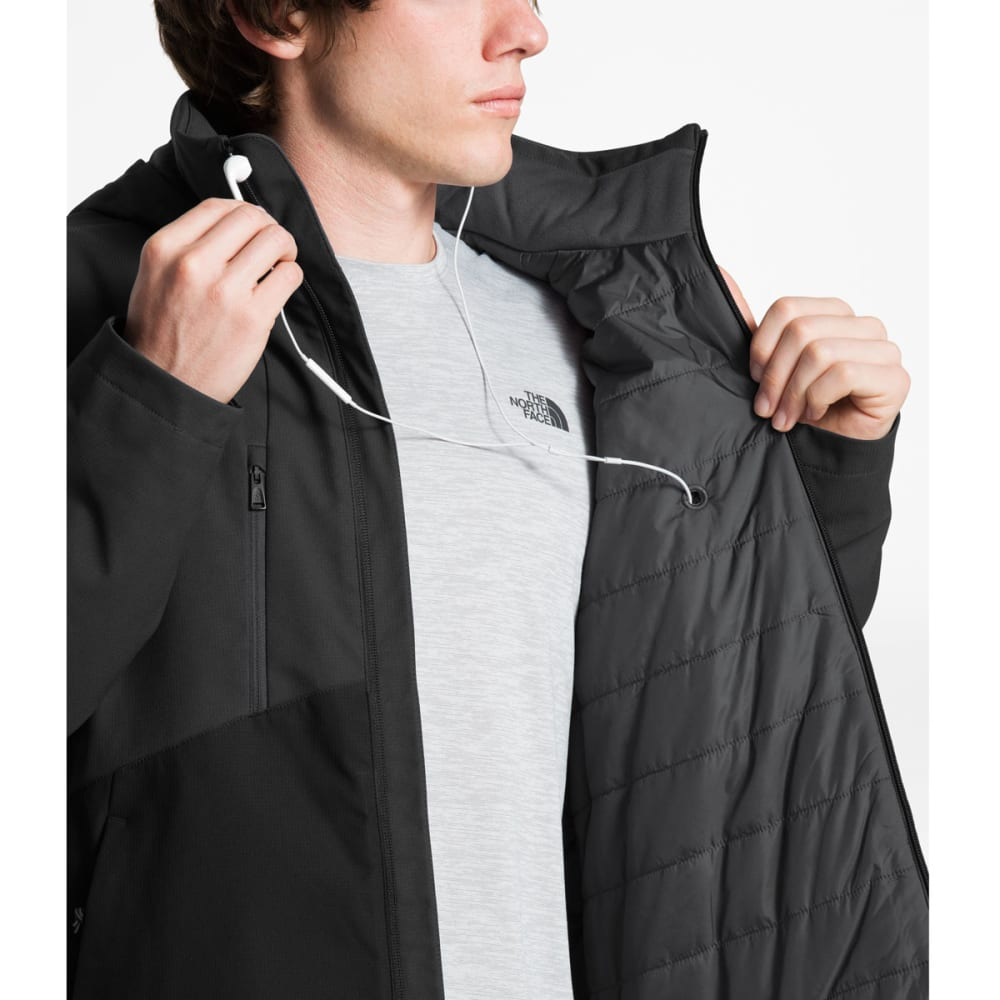 THE NORTH FACE Men's Apex Elevation Jacket - MN8 ASPHALT GREY/BLK