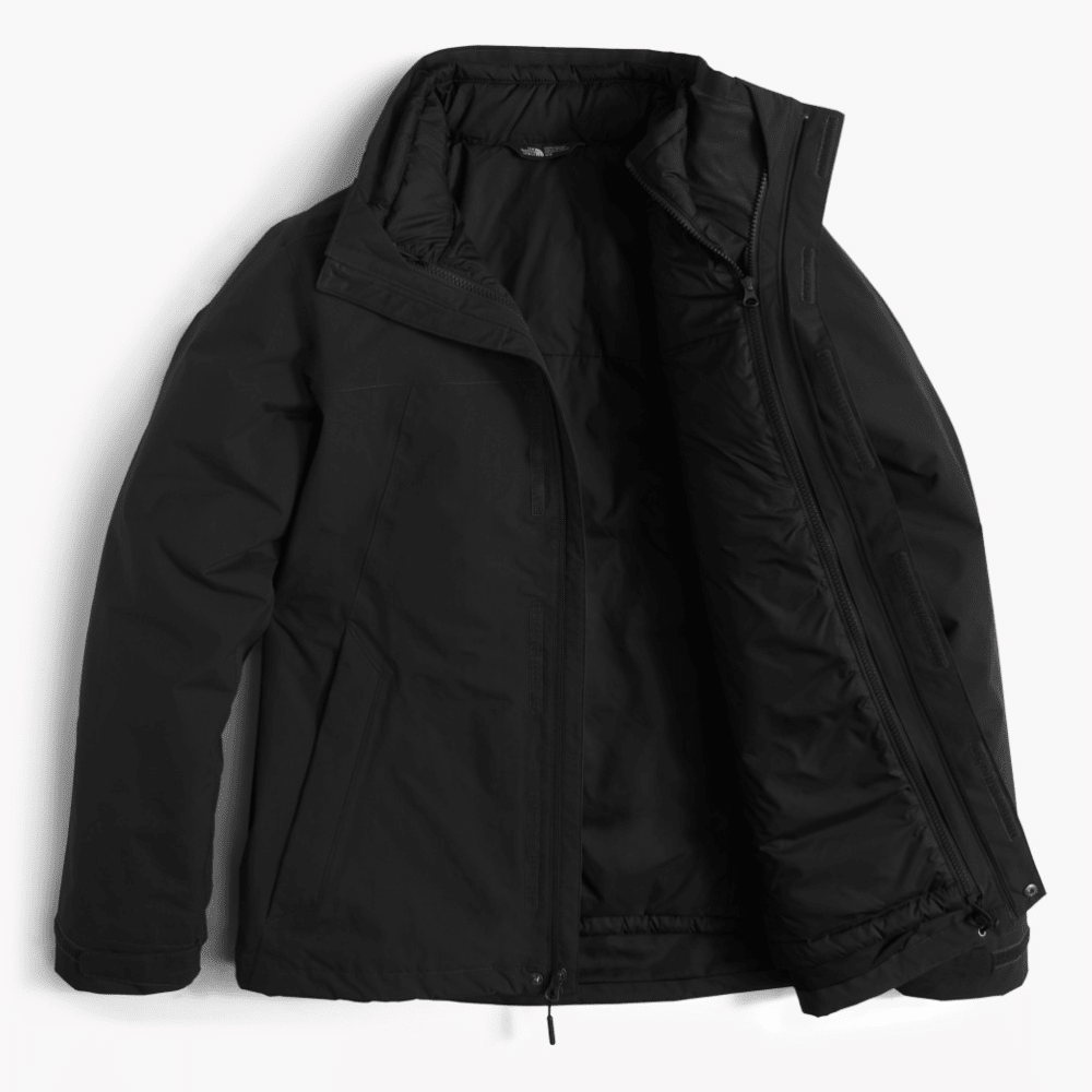 THE NORTH FACE Men's Carto Triclimate Jacket - KX7-TNF BLACK