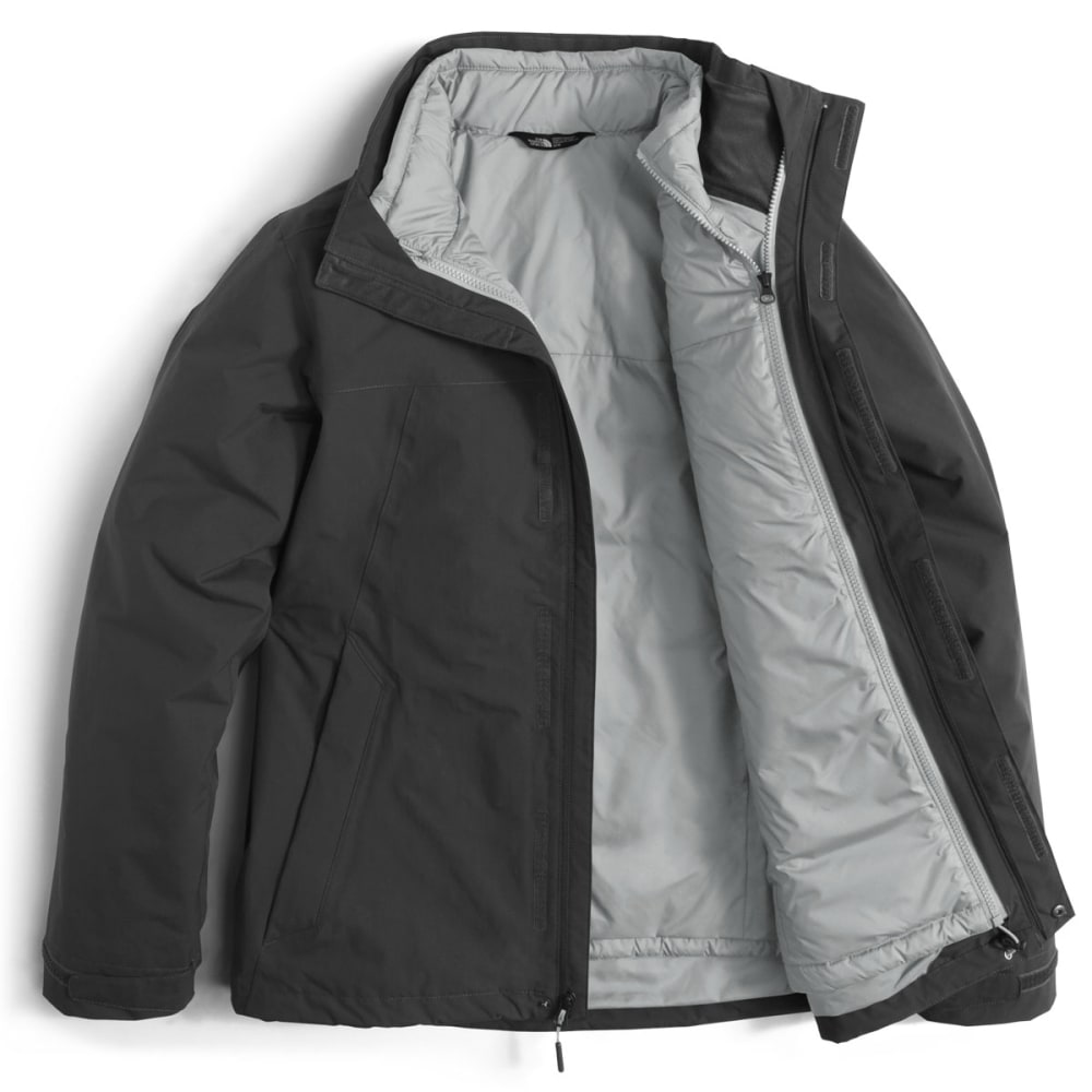 THE NORTH FACE Men's Carto Triclimate Jacket - 03B-ASHPALT GREY