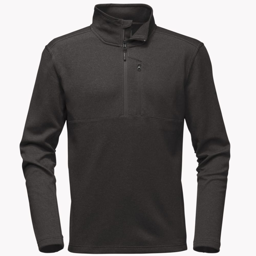 THE NORTH FACE Men's Bi-Stretch Twill Quarter Zip Pullover - DYZ-DARK GREY HEATHE